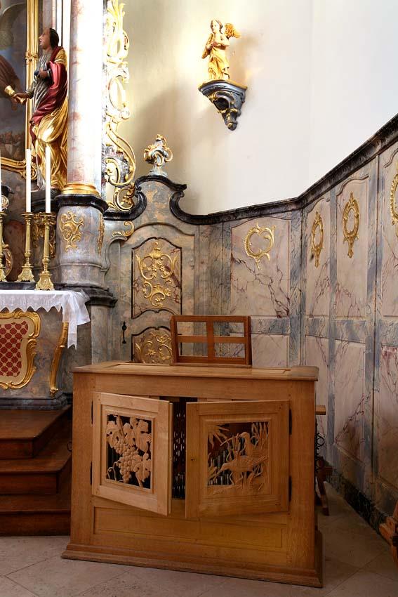 L'orgue de chœur Bernard Aubertin de Saessolsheim, 1992