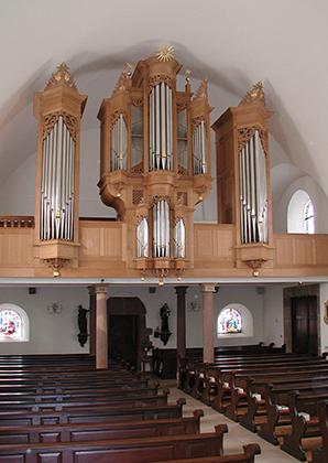 orgue Aubertin de Saessolsheim