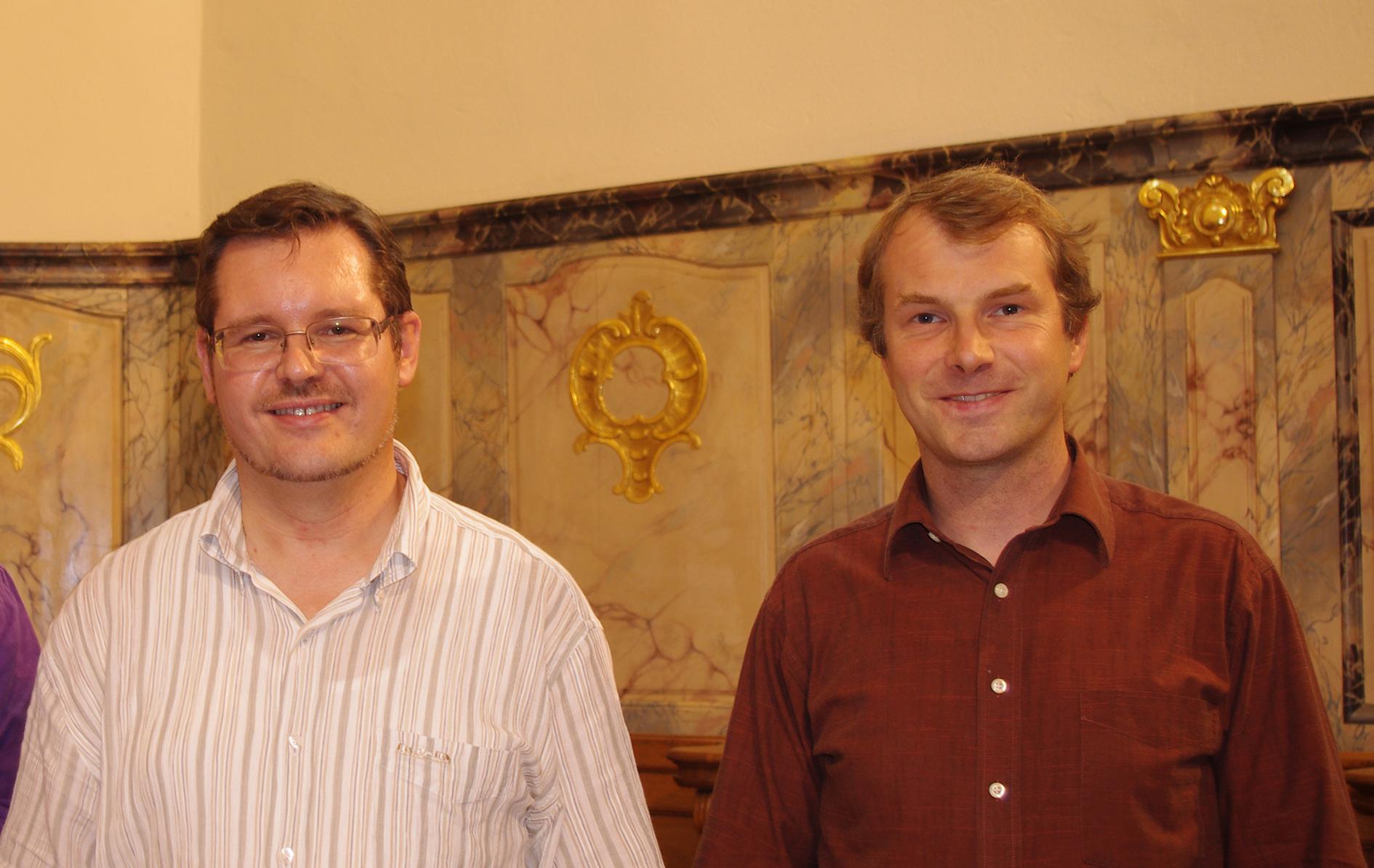 Claude Roser et Francis Jacob